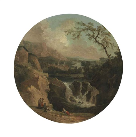 the cascade le torrent by hubert robert