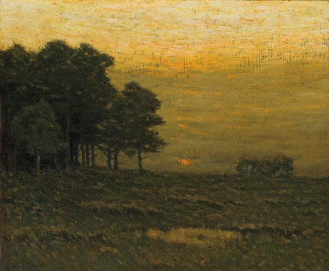 early evening by charles warren eaton