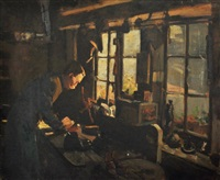 the shoemaker by frederick william leist
