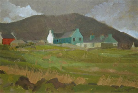 storm on slieve mor by barbara warren
