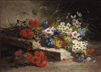 jeté de fleurs by godchaux