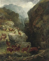 the secret glen by aster r. chantry corbould and joseph adam
