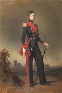 portrait du duc de montpensier by franz xaver winterhalter