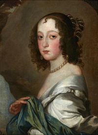 portrait de lady isabella rich by sir anthony van dyck