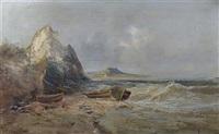 paysage de montagnes by emile godchaux