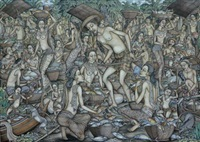 traditional fish market by i ketut ginarsa