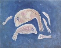 fish in the sky by marsden hartley
