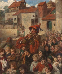 pied piper of hamelin by frank samuel eastman