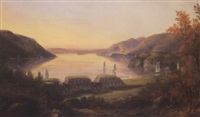 a fort on the hudson by robert walter weir
