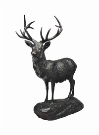 elk by edward kemeys