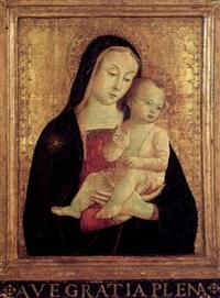 la madonna col bambino by romano antoniazzo