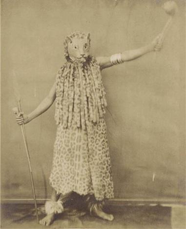 zulu in leopard costume by nicolaas henneman