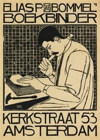 elias p van bommel/boekbinder by theodorus molkenboer