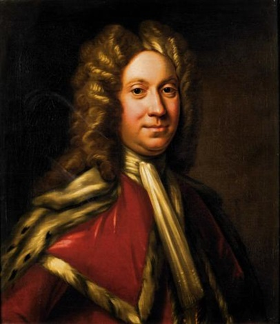 portrait of the rt hon charles, 9th lord elphinstone by william aikman