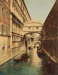le pont des soupirs, venise by carlo naya