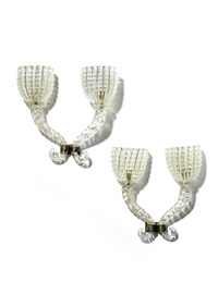 branch wall lights (pair) by artisti barovier
