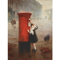 the pillar box, a letter to daddy by fernand le quesne