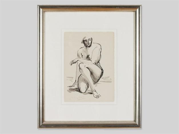 female nude by arno breker