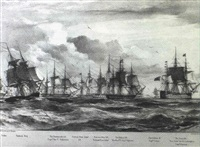 illustrations of the battle of navarin by george philip reinagle