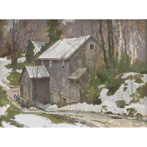 marchmount mill march 27 by george franklin arbuckle