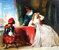 venetian drama by frederick richard pickersgill