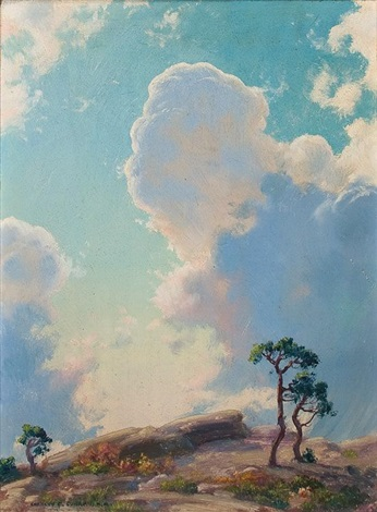 beginning of shower by charles courtney curran