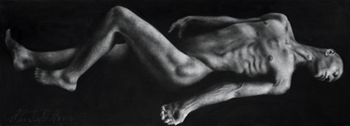 reclining figure no 9 by ahmad zakii anwar