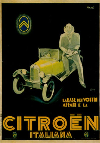 citroën by marcello nizzoli