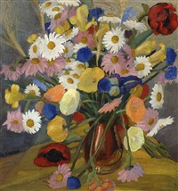 flower still-life by wessel couzijn