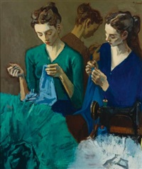 the costume makers by moses soyer