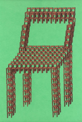 stuhl by thomas bayrle