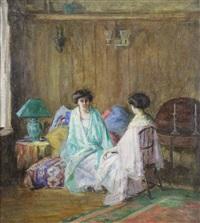Women in Studio.