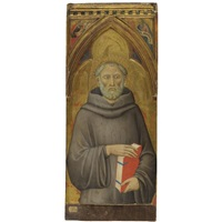 st. giovanni gualberto (+ 2 others; 3 works) by luca di tomme