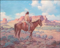 indian scout by gray phineas bartlett