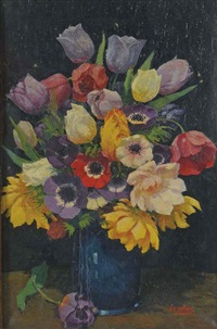summer flowers by john edmund mace