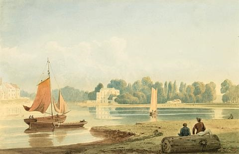 clift house on the avon near cumberland basin, bristol by samuel jackson