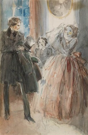 the mystery of edwin drood chapter three by everett shinn