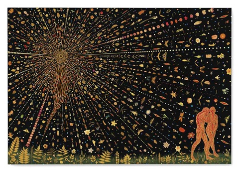 untitled expulsion diptych by fred tomaselli