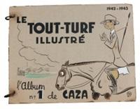le tout turf illustré (album w/10 works) by caza