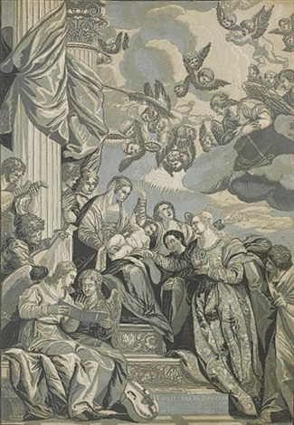 the mystic marriage of st catherine by john baptist jackson