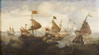 bataille navale by hendrik cornelisz vroom