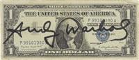 one dollar washington by andy warhol