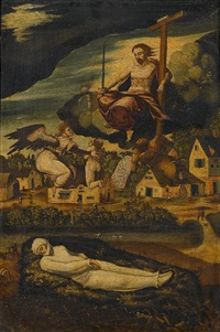 an allegory of death by jan van (brunswich monogrammist) amstel