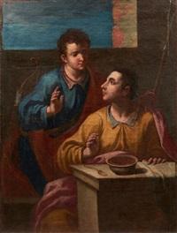 esaü cédant son droit d'aînesse pour un plat de lentilles by cristofano allori