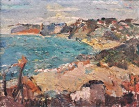 on the french coast by bessie ellen davidson