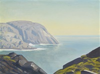 monhegan island by rockwell kent