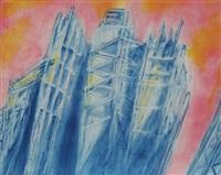 untitled (skyscrapers) by martha diamond