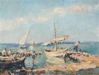 les pêcheurs by julien gustave gagliardini