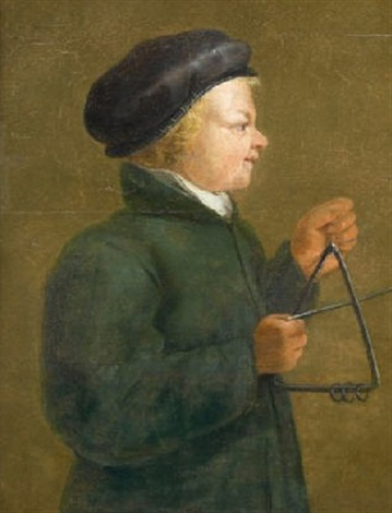 le joueur de triangle by jan van de venne