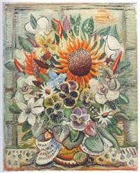 flores (para maria celina machado) by alberto da veiga guignard